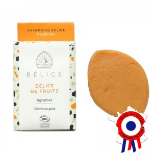Shampoing Solide BIO aux fruits