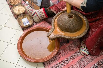 fabrication huile d'argan