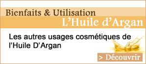 Les autres usages cosmétique de l'huile d'argan