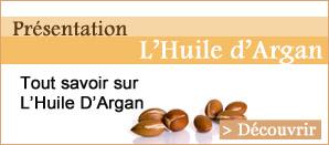 Présentation huile d'argan